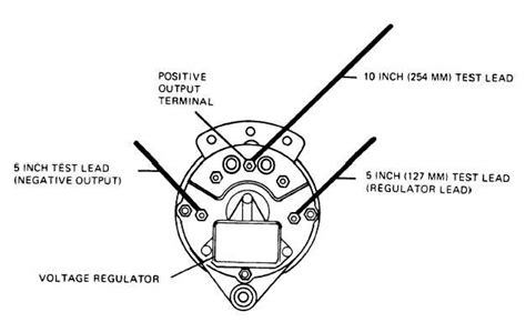 figure   alternator test leads installation