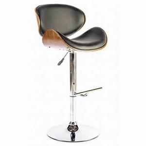 Chaise Mange Debout : chaise haute design avec dossier en bois pour mange debout et bureau leysha ~ Teatrodelosmanantiales.com Idées de Décoration