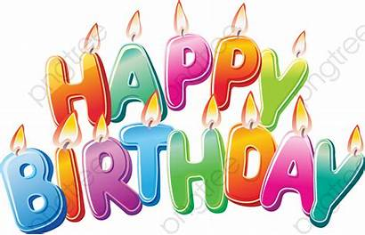 Birthday Happy Transparent Cake Clipart Cartoon Clip