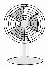 Ventilador Dibujo Ventilator Colorear Fan Coloring Ventilatore Immagine Afbeelding Kleurplaat Coloriage Disegno Colorare Ventilateur Malvorlage Imagen Dibujos Template Disegni Ausmalbild sketch template