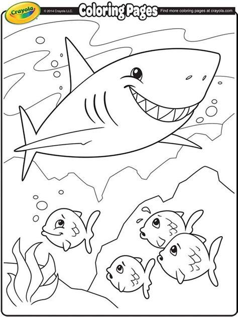 Shark Coloring Pages Shark coloring pages Fish coloring