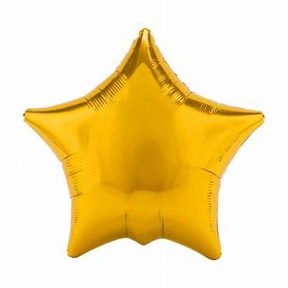 Star Gold Balloons Jumbo Pack Stars Foil