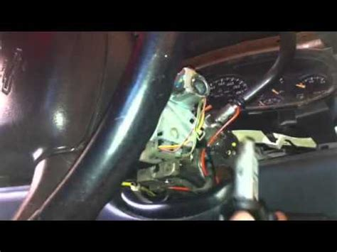 2005 Suburban Ignition Switch by How To Replace Ignition Switch Chevrolet Silverado 2004