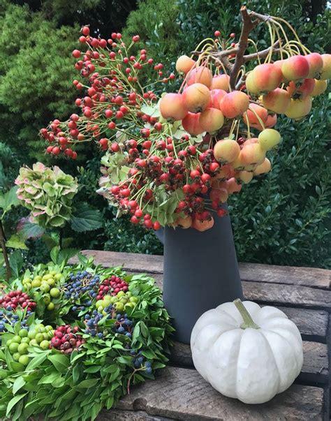 Herbstliche Deko Garten by Herbstdeko Und Blumen Deko Herbst Herbstdeko Deko