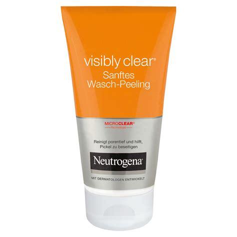 Erfahrungen zu NEUTROGENA Visibly Clear Peeling Waschcreme