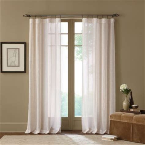 108 inch drapery panels terra sheer 63 inch rod pocket window curtain panel