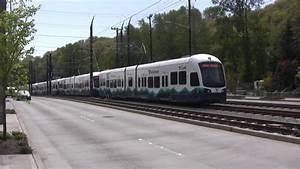 Sound Transit Testing Light Rail With Two Cars Trains #1 ...