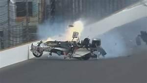 Accident Bourdais Indianapolis : indycar series 2017 qualifying indy 500 s bastien bourdais huge crash all angles youtube ~ Maxctalentgroup.com Avis de Voitures