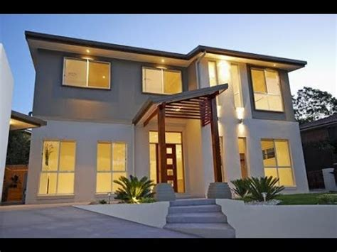 modern house exterior wall paint home design ideas 2017 most beautiful houses youtube