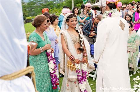 Kailua, Hawaii Indian Wedding By Derek Wong Photography