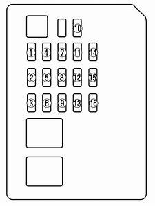 Mazda Sport 6  2006 - 2007  - Fuse Box Diagram