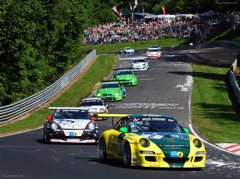 Porsche Wins Nurburgring 24 Hours Exotic Car Wallpaper 03