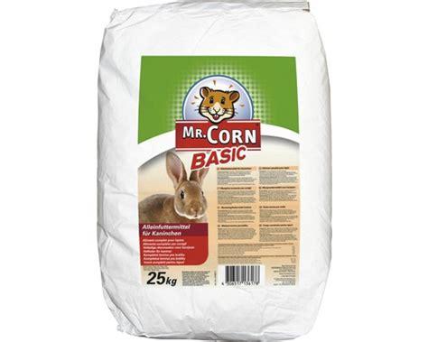 kaninchenfutter 25 kg kaninchenfutter mr corn pellets 25 kg bei hornbach kaufen