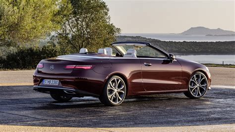 Mercedes Eclass Cabriolet (2017) Review By Car Magazine