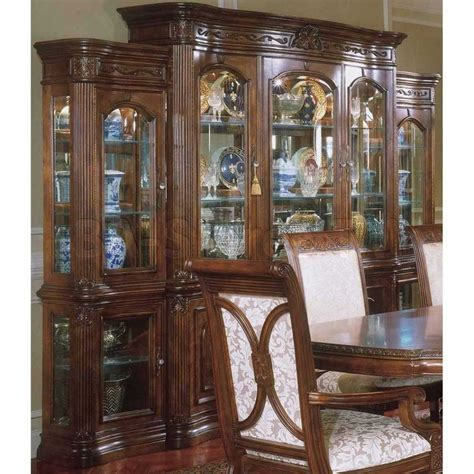 china cabinet dining table furniture dining room french country sets glass for