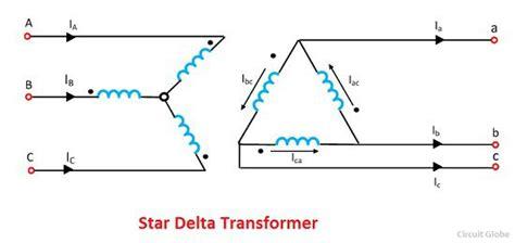 phase shift  star delta transformer meaning