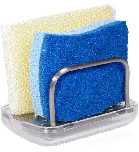 kitchen sponge holder oxo sponge holder in sink organizers