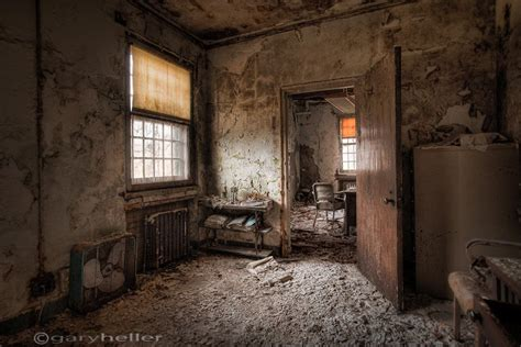 What Once Was, Old Room, Abandoned Asylum, Hdr Photograph