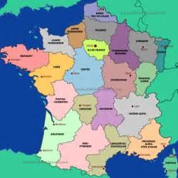 France Map Regions