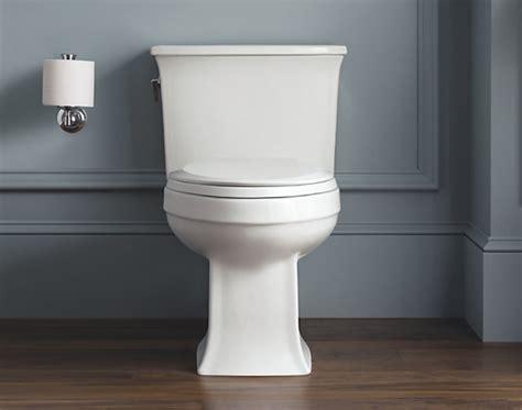 kohler archer  piece elongated toilet  gpf white