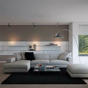 deco salon gris et taupe pour un interieur raffine With couleur peinture salon taupe