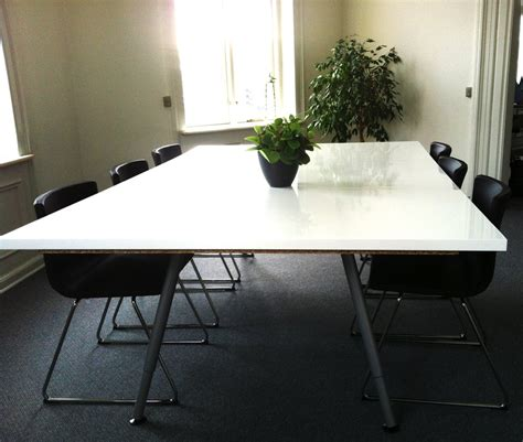 cheap conference room tables ikea hackers make your own conference table cool tips