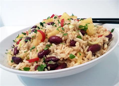 cuisine poisson facile salade de riz à l 39 ananas la recette facile par toqués 2
