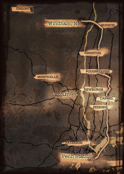 post apocalyptic modern street map  york feed