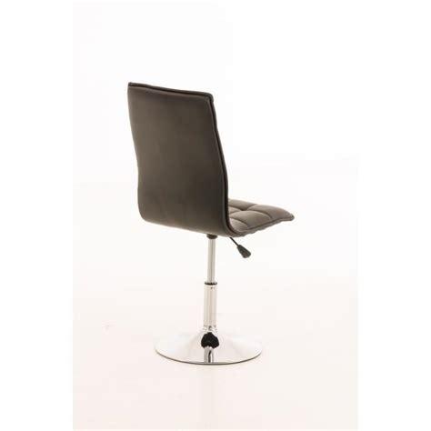 chaise de salle a manger pas cher en belgique clp chaise de salle à manger réglable en hauteur peking avec piétement en chrome optique