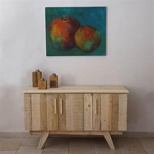 Acheter Meuble En Palette Bois : meuble bas en bois de palette ~ Premium-room.com Idées de Décoration