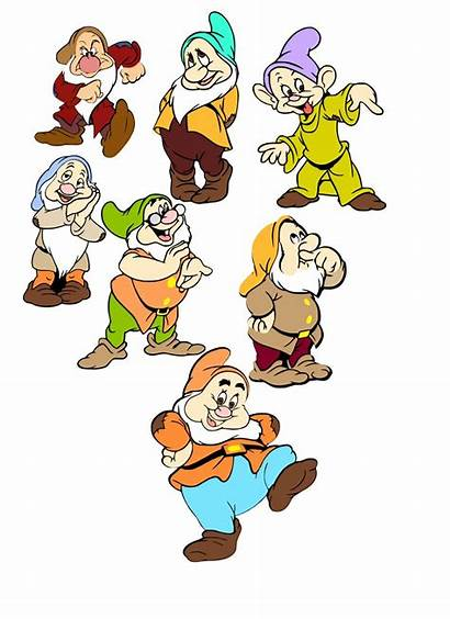 Dwarfs Seven Svg Cartoon Disney Characters Cartoons