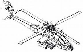 HD Wallpapers Apache Helicopter Coloring Pages