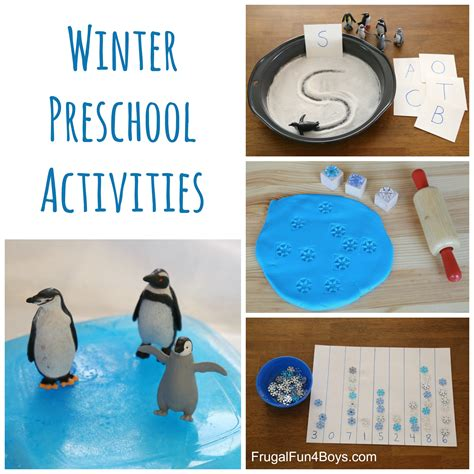 winter theme ideas for preschool winter learning activities for preschool frugal for 570