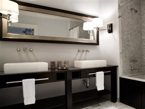 Black And White Bathroom Ideas by Black And White Bathroom Designs Hgtv