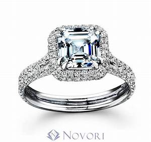 Diamond wedding rings with square cut ipunya for Square cut diamond wedding rings
