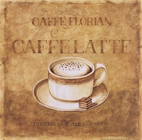 Coffee metal painting vintage coffee shop tin sign italiano pairs caffeine vintage metal posters iron painting kitchen bar wall decor vintage coffee posters on sale. Caffe Latte ~ Fine-Art Print - Vintage Coffee Art Prints and Posters - Vintage Advertisements ...