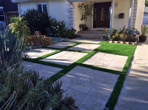 front yard paver designs plastic grass copper hill arizona paver patio front yard landscape ideas
