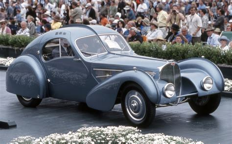 The bugatti type 57 sc atlantic has, as a result, come to be seen as one of the ultimate symbols of prewar automotive elegance, more rolling statue than car, and for once that isn't hyperbole. 1936 Bugatti Type 57SC Atlantic Sells For Record $30+ Million