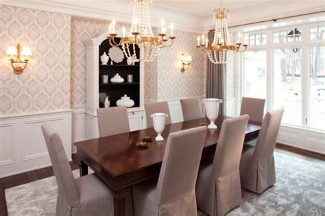 gorgeous wallpaper ideas   beautiful dining room
