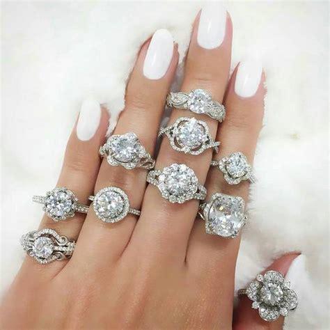 30 unique custom style engagement rings deer pearl flowers