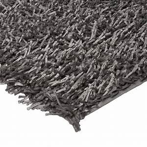 grand tapis de salon gris shaggy 160x230cm With grand tapis shaggy