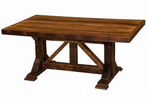 barnwood homestead counter height eight foot dining table With barnwood counter height table