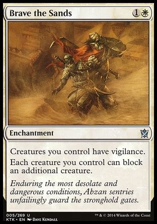 Mtg Enchantment Deck Edh by Magic The Gathering Mtg Brave The Sands A Useful Edh