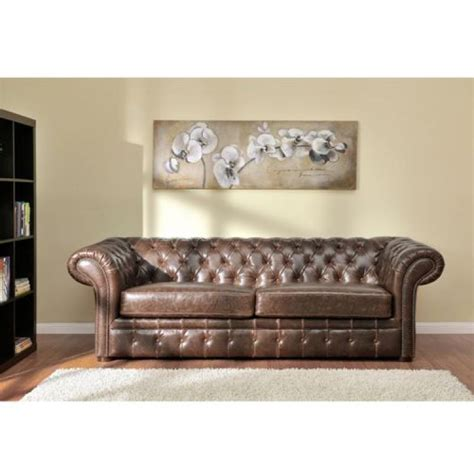 canapé chesterfield cuir occasion photos canapé chesterfield cuir vieilli occasion