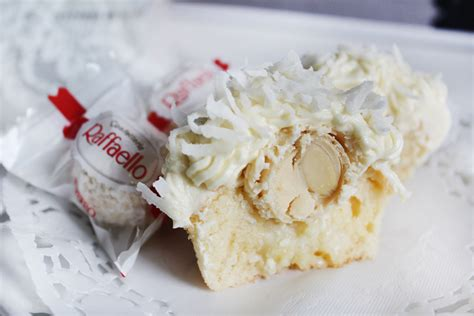 ferrero raffaello cupcakes  sassaby party