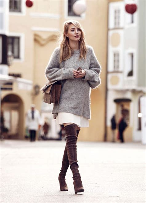 Chic and Comfy Sweater And Skirt Combos - Just The Design