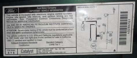 important tune  information page  ford truck