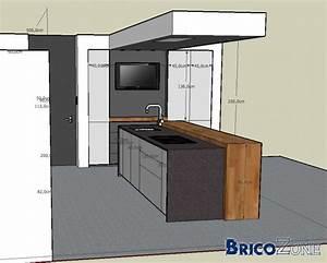 Plan De Travail 300 Cm : epaisseur plan de travail cuisine plan de travail cuisine ~ Premium-room.com Idées de Décoration