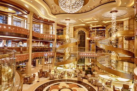 Star Lit Ceiling by 10 Amazing Cruise Ship Atriums