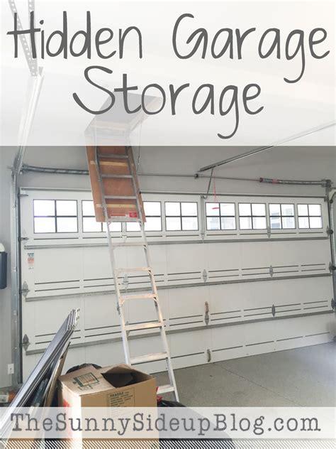 garage storage the side up